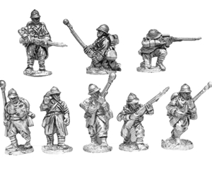 MLR Platoon Command with Rifle Grenade Launchers
