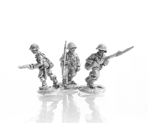 TED Riflemen advancing