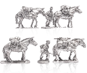 MLR Supply Train with Mules