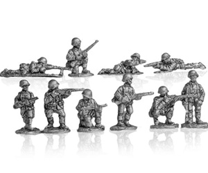 MLR Rifle Squad infantry or motorized infantry firing